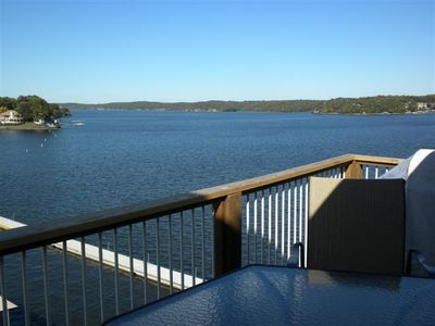 Osage Beach condo rental - ENJOY AN AMAZING VIEW OF THE MAIN CHANNEL FROM THE DECK!