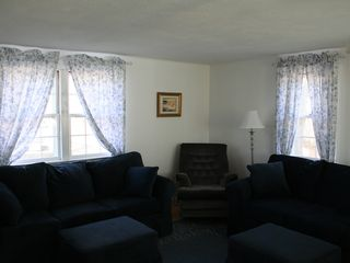 Yarmouth townhome photo - Living room with queen pull out and TV