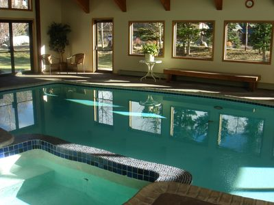 Large Club House Pool