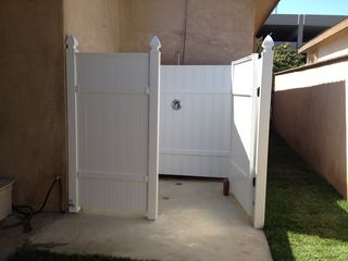 Huntington Beach cottage photo - outdoor hot/cold shower