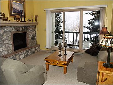 Beaver Creek condo rental - Living Room and Private Balcony