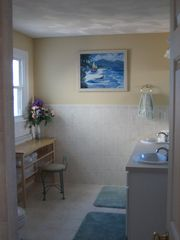 Plymouth house photo - Bathroom with Bedroom 6