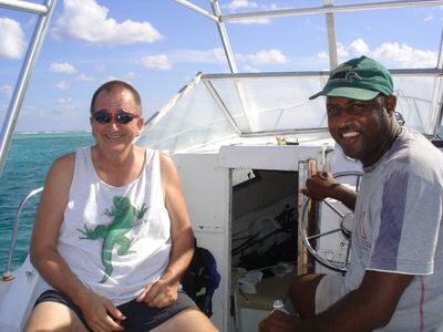 Deep Sea Fishing with Captain Herman.  He's based in the East End