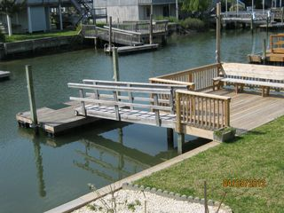 Holden Beach house photo - 12 ' Floating dock