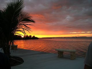 Islamorada condo photo - Another sunset viewed from the seawall
