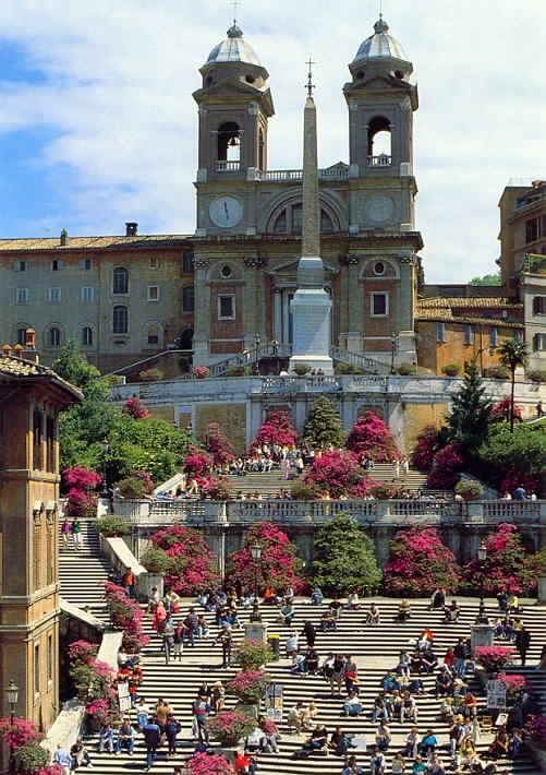 Spanish Steps at 20 minutes walking