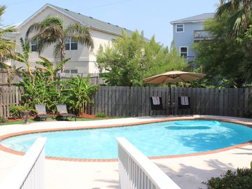 South Padre Island house rental - Break away from the crowds and cool down at your own private pool!