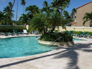 Humacao condo photo - Pool area - a quiet place to get some sun.