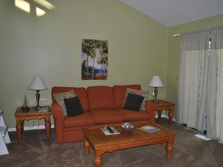Bald Head Island condo photo - new wall to wall carpets, newly painted,new living room furniture