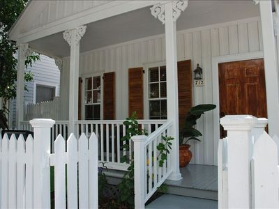 Charming Porch Overlooking Old Town Key West