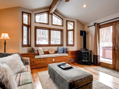 Bear Mountain Chalet Family Room Breckenridge Vacation Rentals