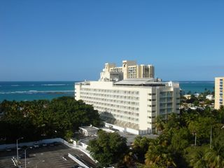 Isla Verde apartment photo - Across the street from the San Juan Hotel & Casino
