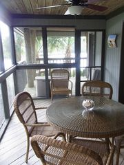 Kiawah Island villa photo - Screened in Porch
