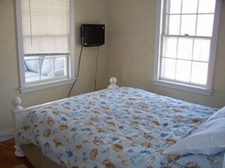 "Hyannis - Hyannisport house photo - Queen bedroom has in-window air conditioner and 19"" tv/dvd combo"