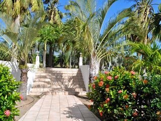 St Barthelemy villa photo - The entrance stairs