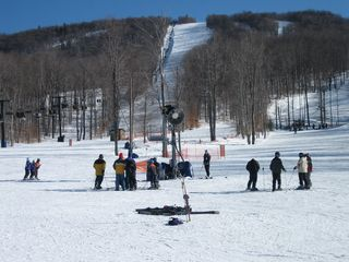 Canaan Valley studio photo - Timberline ski lift, snow tubing available