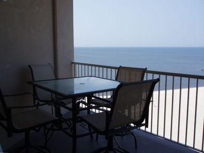 Biloxi condo rental - View Beautiful Sunsets from our 10th Floor Balcony