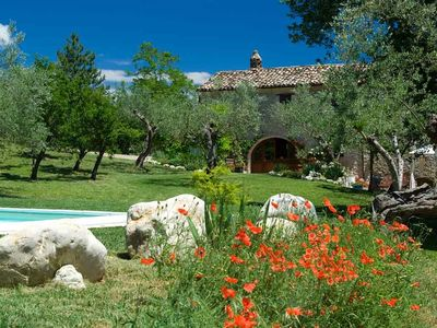 Traditional Stone Farmhouse with Swimming Pool and WiFi