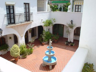 Torremolinos house rental - Overlooking the Traditional Spanish Courtyard
