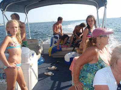 ALL TIME Favorite activity! Rent a pontoon and go see the dolphins!