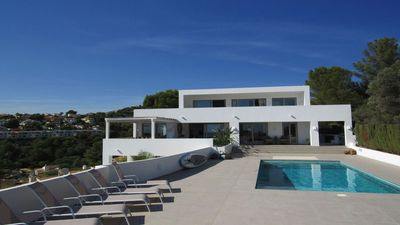 El Portet, Moraira. New luxury private villa finished to an exceptional standard