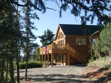 Jefferson house rental - A dream vacation cabin in beautiful South Park, CO, facing 3 mountain ranges!