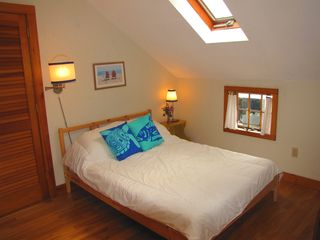 Vineyard Haven house photo - Double bedroom- 2nd floor, with skylight