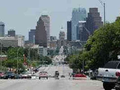 Walking up and down South Congress, you will see downtown.