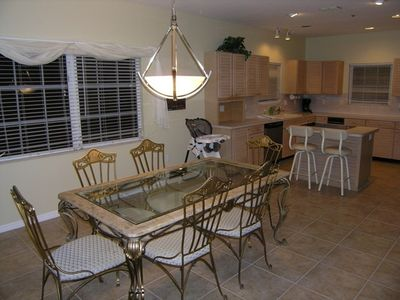 Siesta Key townhome rental - Dining Room of 3 Bedroom Unit