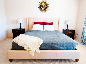 Yuma house rental - Master suite with King-size bed