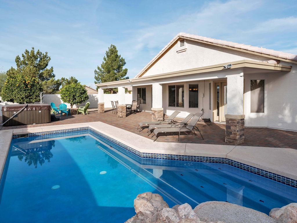 mesa arizona 4 bedroom home with heated pool vrbo