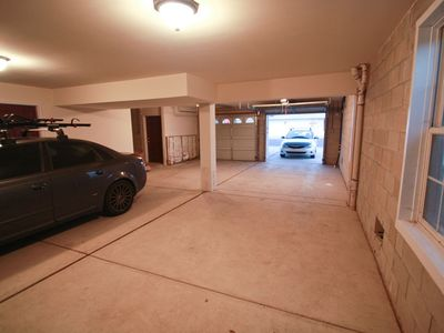 Garage - Our two spots are on the left of this picture. Closed door side.
