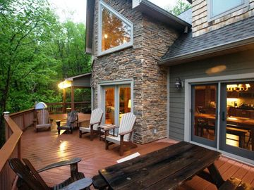 West Jefferson house rental - Our Point of View Rear Deck