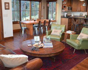 Georgetown Lake house photo - The open floor plan means your family is spending your vacation time together.