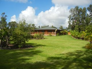 Pahoa house photo - From the corner of the backyard.