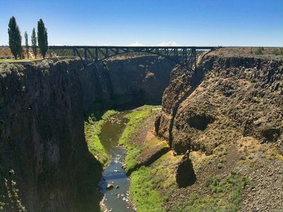 Crooked River Gorge from Peter Skeen Ogden State Park