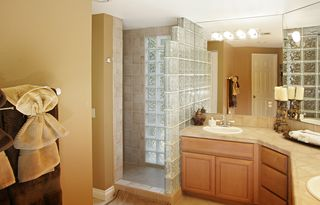Palm Desert house photo - Master Bathroom with his and hers sinks