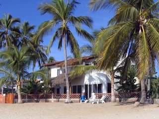 Bucerias villa photo - Casa Inglesa from the beach in Bucerias