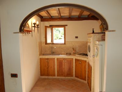 Lower Floor:Kitchenette