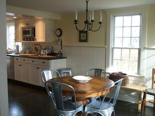 Barnstable house photo - Open, light kitchen