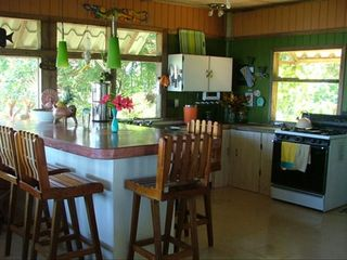 Drake Bay cottage photo - Complete Kitchen with all the pots, pans and untinsils