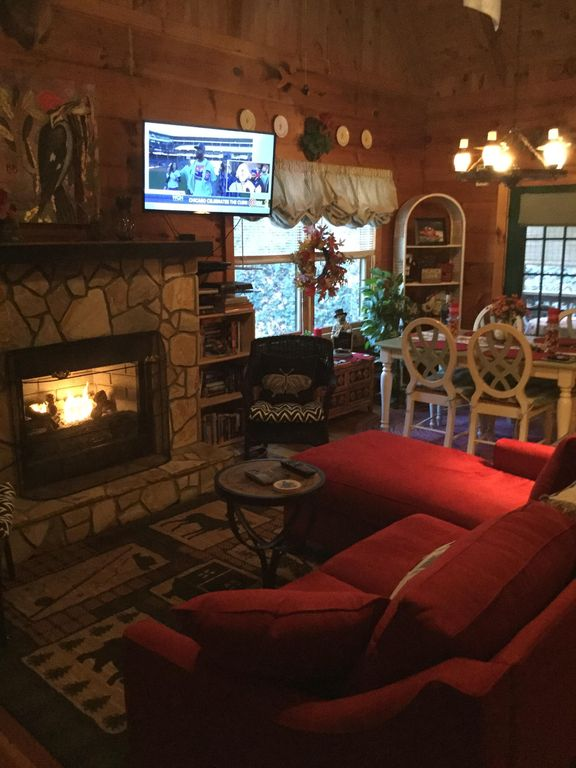 Come snuggle by the fire!