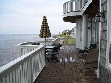 Fripp Island estate rental - .Back decks and ocean