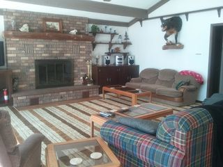 Great room with fireplace - Pentwater house vacation rental photo
