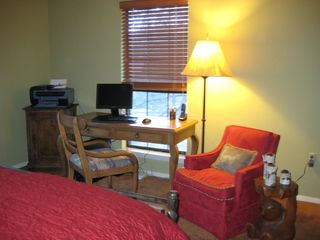 Ruidoso house photo - A place to plug in or read a good book. Master