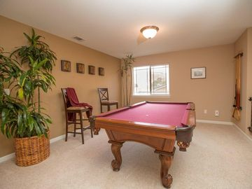 Billiard Table on Second Floor