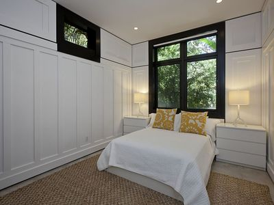 Guest Bedroom with Walk In Closet