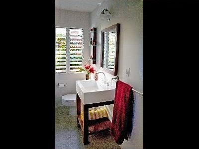 BATHROOM - SMALL BUT SWEET (WITH WASHER DRYER)