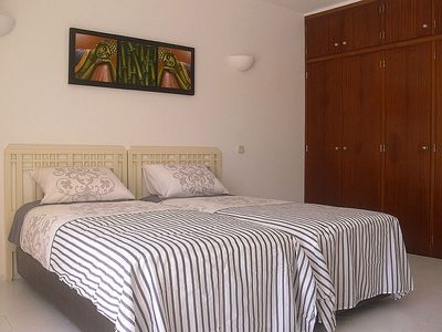 One of the 3 bedrooms of Vila Jasmin
