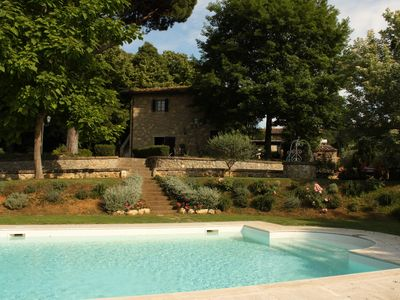 aparment with pool and garden in the heart of Chianti